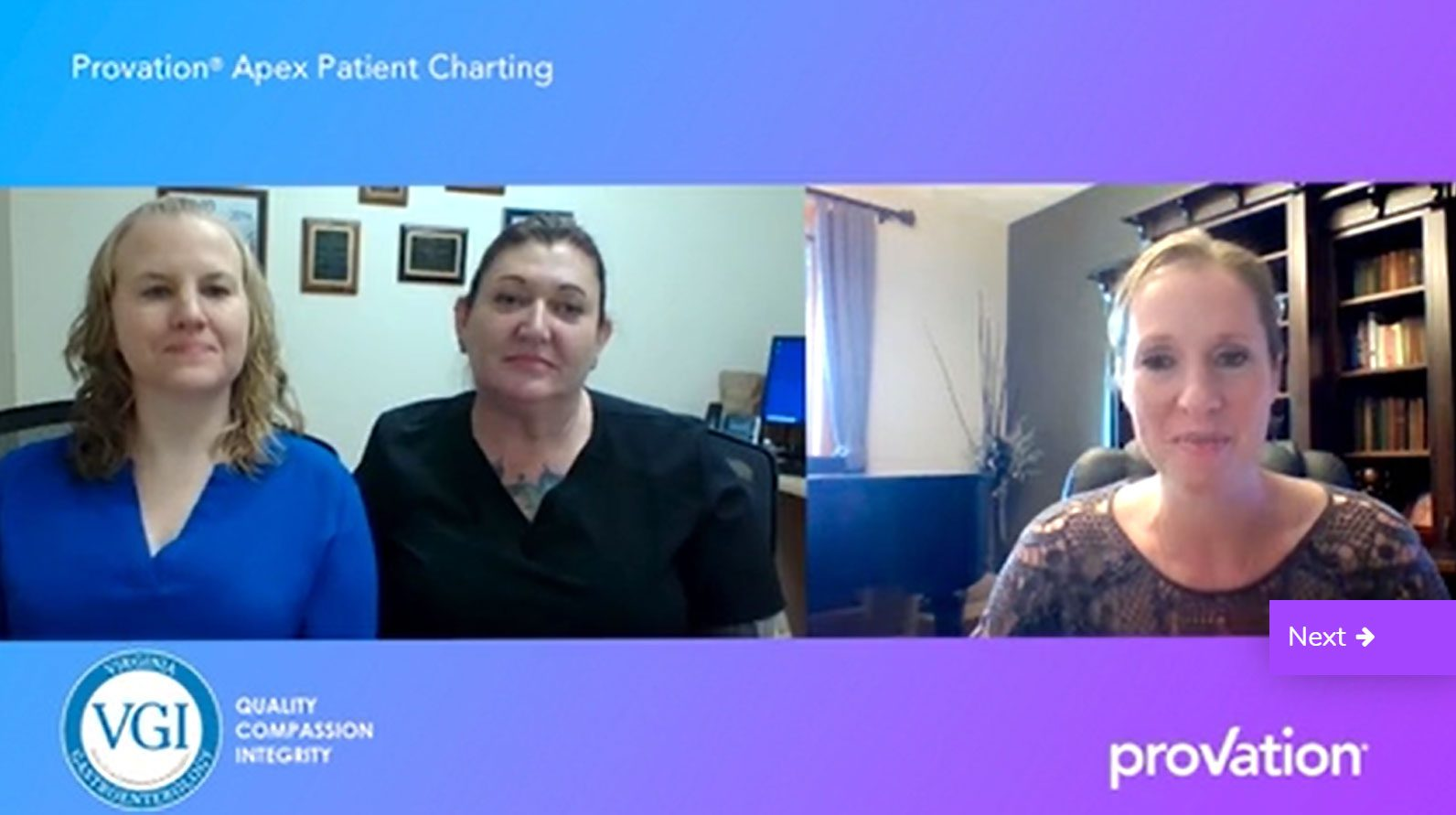 Provation® Apex Patient Charting